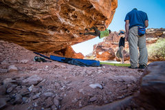 Rock Climbing Photo: Me getting the onsight and my third ever outside b...