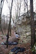 Rock Climbing Photo: Craig Stilley working through Shape Shifter.