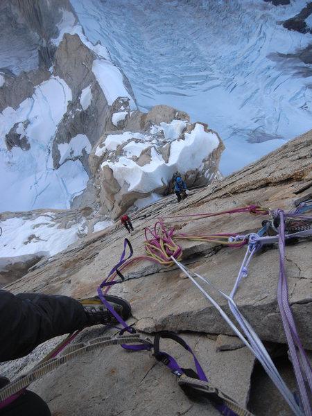 Rock Climbing Photo: Exposure on Cerro Torre.