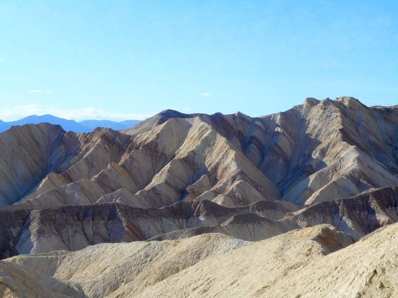 Above Golden Canyon, Death Valley.