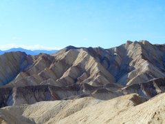 Rock Climbing Photo: Above Golden Canyon, Death Valley.
