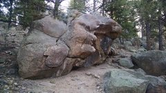 Rock Climbing Photo: Trailside egg, another angle.