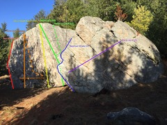 Rock Climbing Photo: The House Boulders.