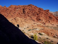 Rock Climbing Photo: Along the way up to The Fox.  Nov 2015.