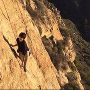Rock Climbing Photo: Temple Rock in Laguna Beach