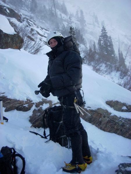 FS: Marmot 8000m parka in action