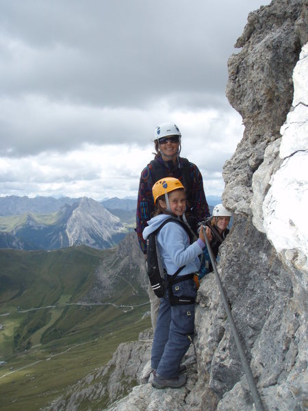 """A good way to introduce your younger kids to a full day """"climbing"""" in the mountains"""