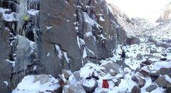 "Rock Climbing Photo: Toproping ""Zippo's..."" in November 2015."