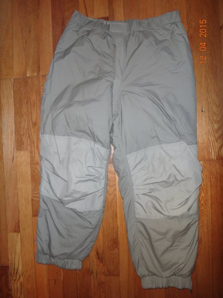 ECWCS Level 7 Gen 3 Trousers.