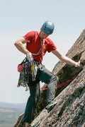 Rock Climbing Photo: Trad Climbing