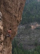 Rock Climbing Photo: Zack Nadiak firing this sweet climb!