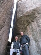 "Rock Climbing Photo: This is our ""feeling proud"" photo after ..."