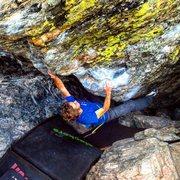 Rock Climbing Photo: Such a great boulder!