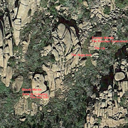 Rock Climbing Photo: Satellite View of Lost Dome Boulders
