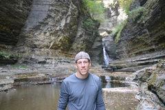 Rock Climbing Photo: Enjoying the fresh waters
