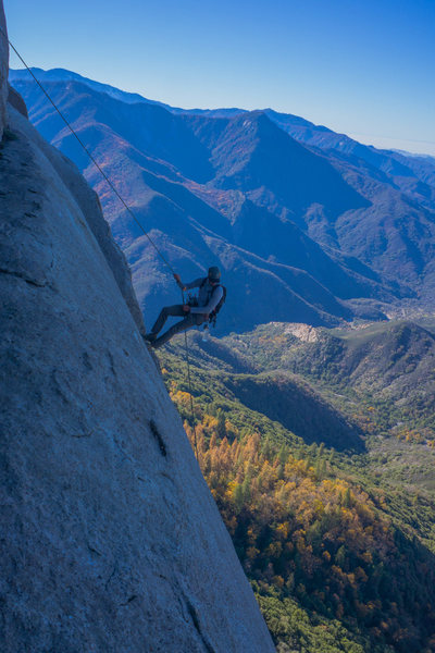 Rock Climbing Photo: Moro Rock approach
