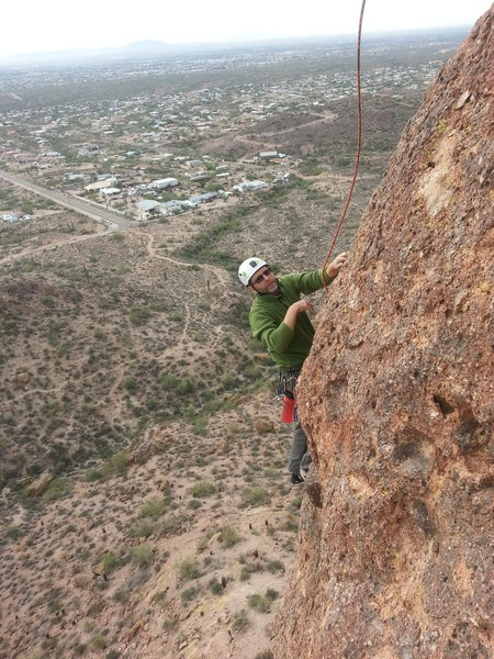 Stan on Greevers Arete