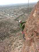 Rock Climbing Photo: Stan on Greevers Arete