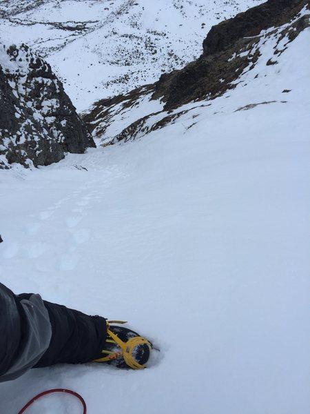 Solo speed ascent Hatcher pass
