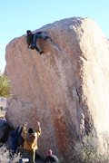 Rock Climbing Photo: Go far left before you try to top out!