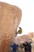 Rock Climbing Photo: :D