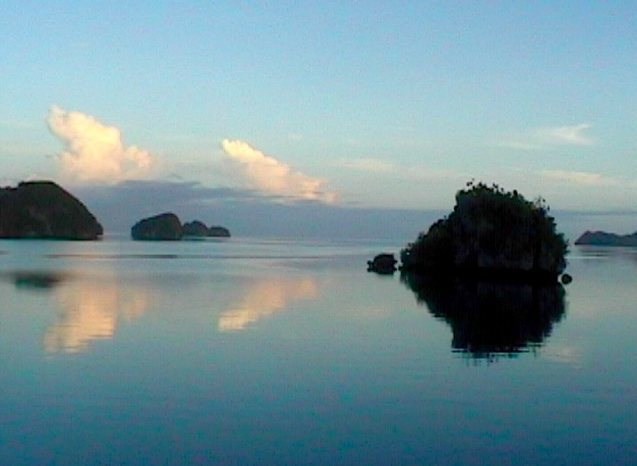 Rock Islands, Palau.