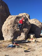 Rock Climbing Photo: Jet Lag V1