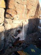 Rock Climbing Photo: Dakota on Indian Summer