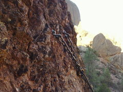 Rock Climbing Photo: These are the rap rings for abseiling off of Tilti...