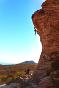 Rock Climbing Photo: Unknown climber, November 29, 2015