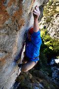 Rock Climbing Photo: Donovan Allen on Fuego, September 21, 2015