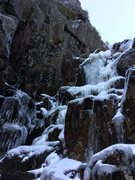 First waterfall in early December 2015