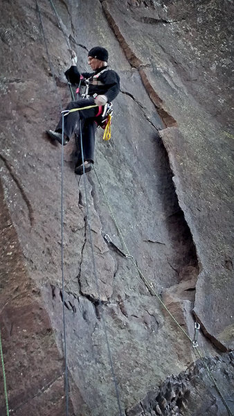 Rock Climbing Photo: Self-belay working seamlessly.