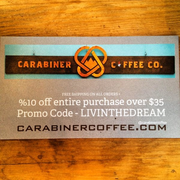 "promo code ""LIVINTHEDREAM"""