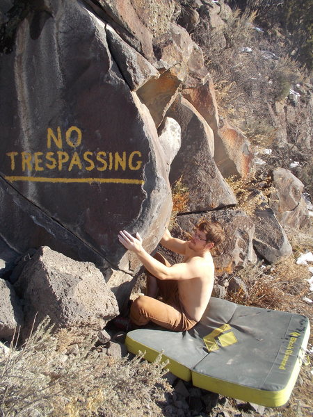 Dakotah starting No Trespassing