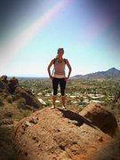Rock Climbing Photo: Camelback Mountain