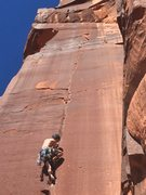 Rock Climbing Photo: Found the angle of the flake to be pretty hard to ...