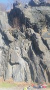 Rock Climbing Photo: Rope is on Tradatrocity