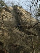 Rock Climbing Photo: Calvin's corner