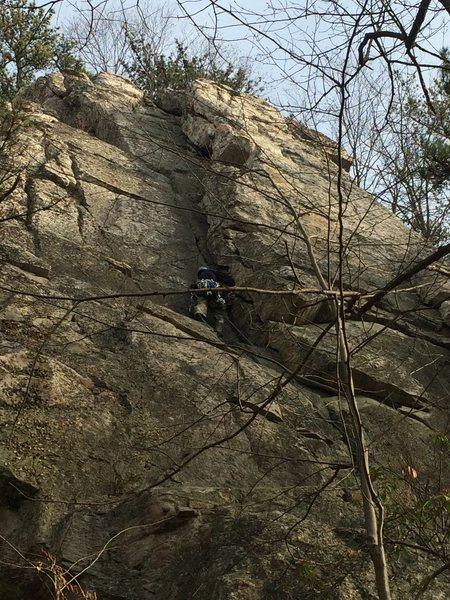 Rock Climbing Photo: Calvin's corner