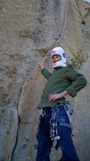Rock Climbing Photo: getting ready for espresso crack, halloween weeken...