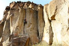 Rock Climbing Photo: Sword of Damocles, rattly off-width...