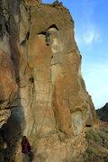 Rock Climbing Photo: Austin Kessler on Disco Inferno