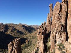 Rock Climbing Photo: Shmotem Pole's improbable balance and elegant beau...