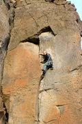 Rock Climbing Photo: Disco Inferno 5.10b/c