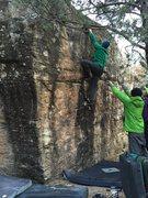Rock Climbing Photo: Shane sending!