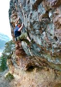 Rock Climbing Photo: This is such a fun route.    Photo by Erik Durgin.