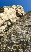 Rock Climbing Photo: The lieback pitch -- if you can find this, you're ...