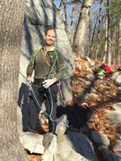 Rock Climbing Photo: Top roper