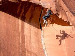 Rock Climbing Photo: Peter Pan on King Cat